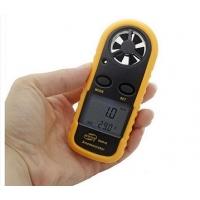 Anemómetro digital con termómetro incorporado