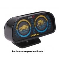 Inclinometro para vehiculo