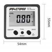Inclinómetro digital Mini