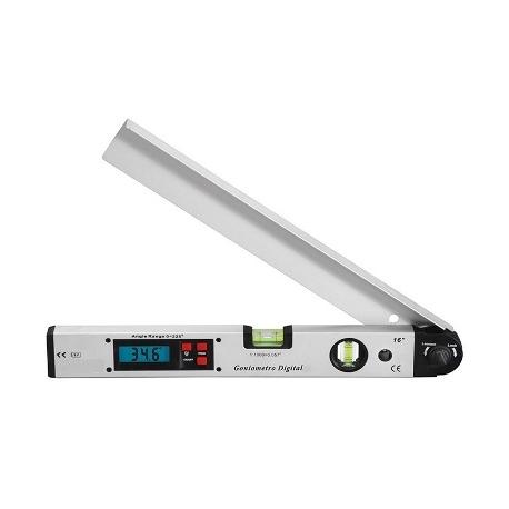 Medidor digital de ángulos. Goniómetro