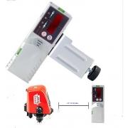 Detector de proyección de nivel láser rojo